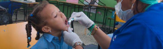 Fundación Rica realiza jornada médica en Villa Mella, Escuela San Felipe